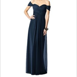 Dessy Dress 2844 in midnight